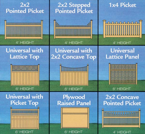 New construction fence renovators Fence planner